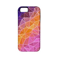 Crystalized Rainbow Apple Iphone 5 Classic Hardshell Case (pc+silicone) by 8fugoso