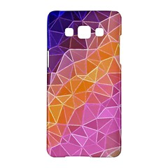 Crystalized Rainbow Samsung Galaxy A5 Hardshell Case  by 8fugoso