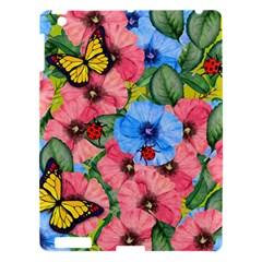 Floral Scene Apple Ipad 3/4 Hardshell Case by linceazul