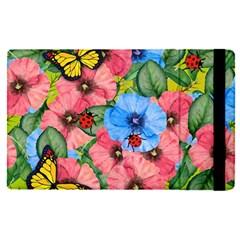 Floral Scene Apple Ipad Pro 9 7   Flip Case by linceazul
