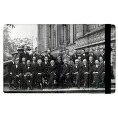 1927 Solvay Conference On Quantum Mechanics Apple Ipad 3/4 Flip Case by thearts