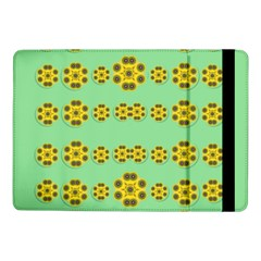 Sun Flowers For The Soul At Peace Samsung Galaxy Tab Pro 10 1  Flip Case by pepitasart