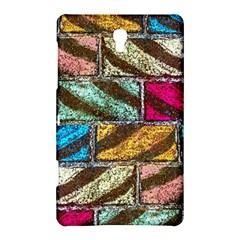 Colorful Painted Bricks Street Art Kits Art Samsung Galaxy Tab S (8 4 ) Hardshell Case  by Costasonlineshop