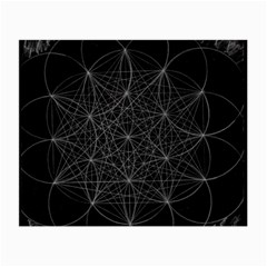 Sacred Geometry Music 144links Small Glasses Cloth (2 Side) by Cveti