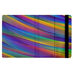 Colorful Background Apple Ipad Pro 12 9   Flip Case by Nexatart