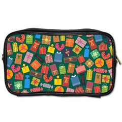 Presents Gifts Background Colorful Toiletries Bags by Nexatart