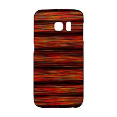 Colorful Abstract Background Strands Galaxy S6 Edge by Nexatart