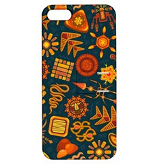 Pattern Background Ethnic Tribal Apple Iphone 5 Hardshell Case With Stand by Nexatart