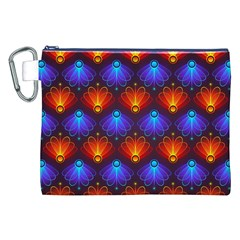Background Colorful Abstract Canvas Cosmetic Bag (xxl) by Nexatart