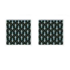Seamless Pattern Background Cufflinks (square) by Nexatart