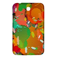 Background Colorful Abstract Samsung Galaxy Tab 3 (7 ) P3200 Hardshell Case  by Nexatart
