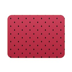 Watermelon Minimal Pattern Double Sided Flano Blanket (mini)  by jumpercat