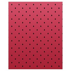 Watermelon Minimal Pattern Drawstring Bag (small) by jumpercat