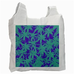 Electric Palm Tree Recycle Bag (one Side) by jumpercat