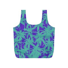 Electric Palm Tree Full Print Recycle Bags (s)  by jumpercat