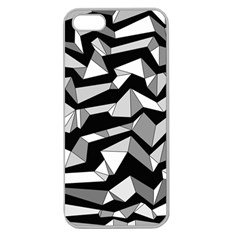 Polynoise Lowpoly Apple Seamless Iphone 5 Case (clear)