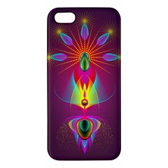 Abstract Bright Colorful Background Iphone 5s/ Se Premium Hardshell Case