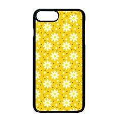 Daisy Dots Yellow Apple Iphone 7 Plus Seamless Case (black)