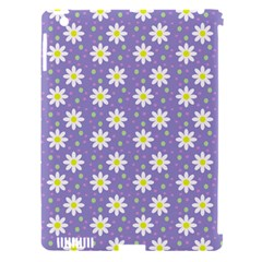 Daisy Dots Violet Apple Ipad 3/4 Hardshell Case (compatible With Smart Cover) by snowwhitegirl