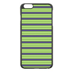 Color Line 2 Apple Iphone 6 Plus/6s Plus Black Enamel Case by jumpercat