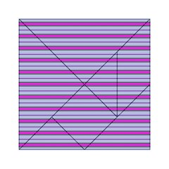 Color Line 4 Acrylic Tangram Puzzle (6  X 6 ) by jumpercat
