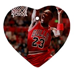 Michael Jordan Ornament (heart) by LABAS