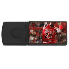 Michael Jordan Rectangular Usb Flash Drive by LABAS