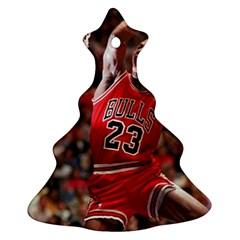 Michael Jordan Christmas Tree Ornament (two Sides) by LABAS