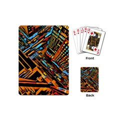 City Scape Playing Cards (mini)  by 8fugoso