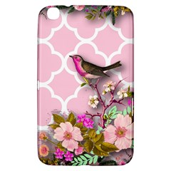 Shabby Chic,floral,bird,pink,collage Samsung Galaxy Tab 3 (8 ) T3100 Hardshell Case  by 8fugoso