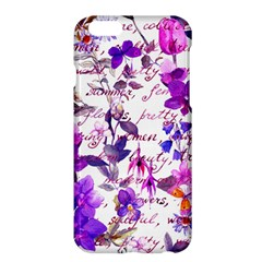 Ultra Violet,shabby Chic,flowers,floral,vintage,typography,beautiful Feminine,girly,pink,purple Apple Iphone 6 Plus/6s Plus Hardshell Case by 8fugoso