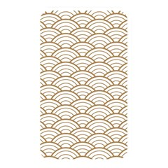 Gold,white,art Deco,vintage,shell Pattern,asian Pattern,elegant,chic,beautiful Memory Card Reader by 8fugoso