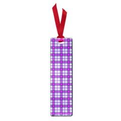 Purple Tartan Small Book Marks by jumpercat