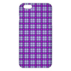 Purple Tartan Iphone 6 Plus/6s Plus Tpu Case by jumpercat