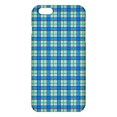 Sea Tartan Iphone 6 Plus/6s Plus Tpu Case by jumpercat