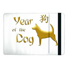 Year Of The Dog   Chinese New Year Samsung Galaxy Tab Pro 10 1  Flip Case by Valentinaart