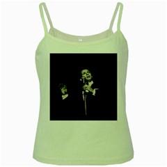 Frank Sinatra  Green Spaghetti Tank