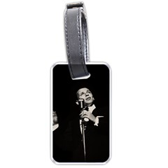 Frank Sinatra  Luggage Tags (one Side)  by Valentinaart