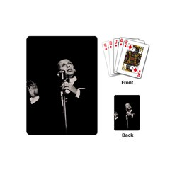Frank Sinatra  Playing Cards (mini)  by Valentinaart