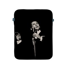 Frank Sinatra  Apple Ipad 2/3/4 Protective Soft Cases by Valentinaart