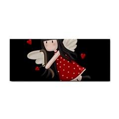 Cupid Girl Cosmetic Storage Cases by Valentinaart