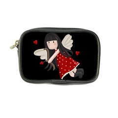 Cupid Girl Coin Purse by Valentinaart