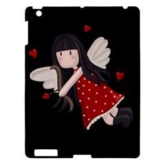 Cupid Girl Apple Ipad 3/4 Hardshell Case by Valentinaart