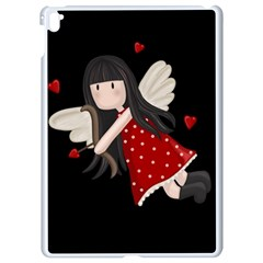 Cupid Girl Apple Ipad Pro 9 7   White Seamless Case by Valentinaart