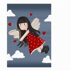 Cupid Girl Small Garden Flag (two Sides)
