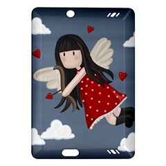 Cupid Girl Amazon Kindle Fire Hd (2013) Hardshell Case by Valentinaart