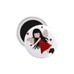 Cupid Girl 1 75  Magnets by Valentinaart