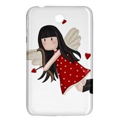 Cupid Girl Samsung Galaxy Tab 3 (7 ) P3200 Hardshell Case  by Valentinaart