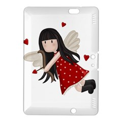 Cupid Girl Kindle Fire Hdx 8 9  Hardshell Case by Valentinaart