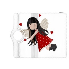Cupid Girl Kindle Fire Hdx 8 9  Flip 360 Case by Valentinaart